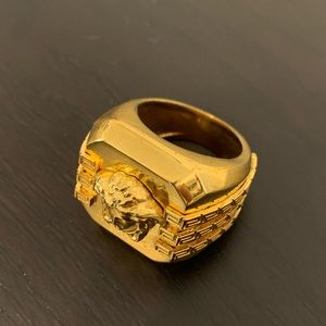Versace men's ring